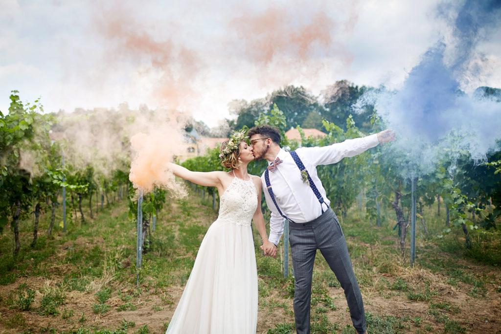 Boho-Hochzeit mit Charme
