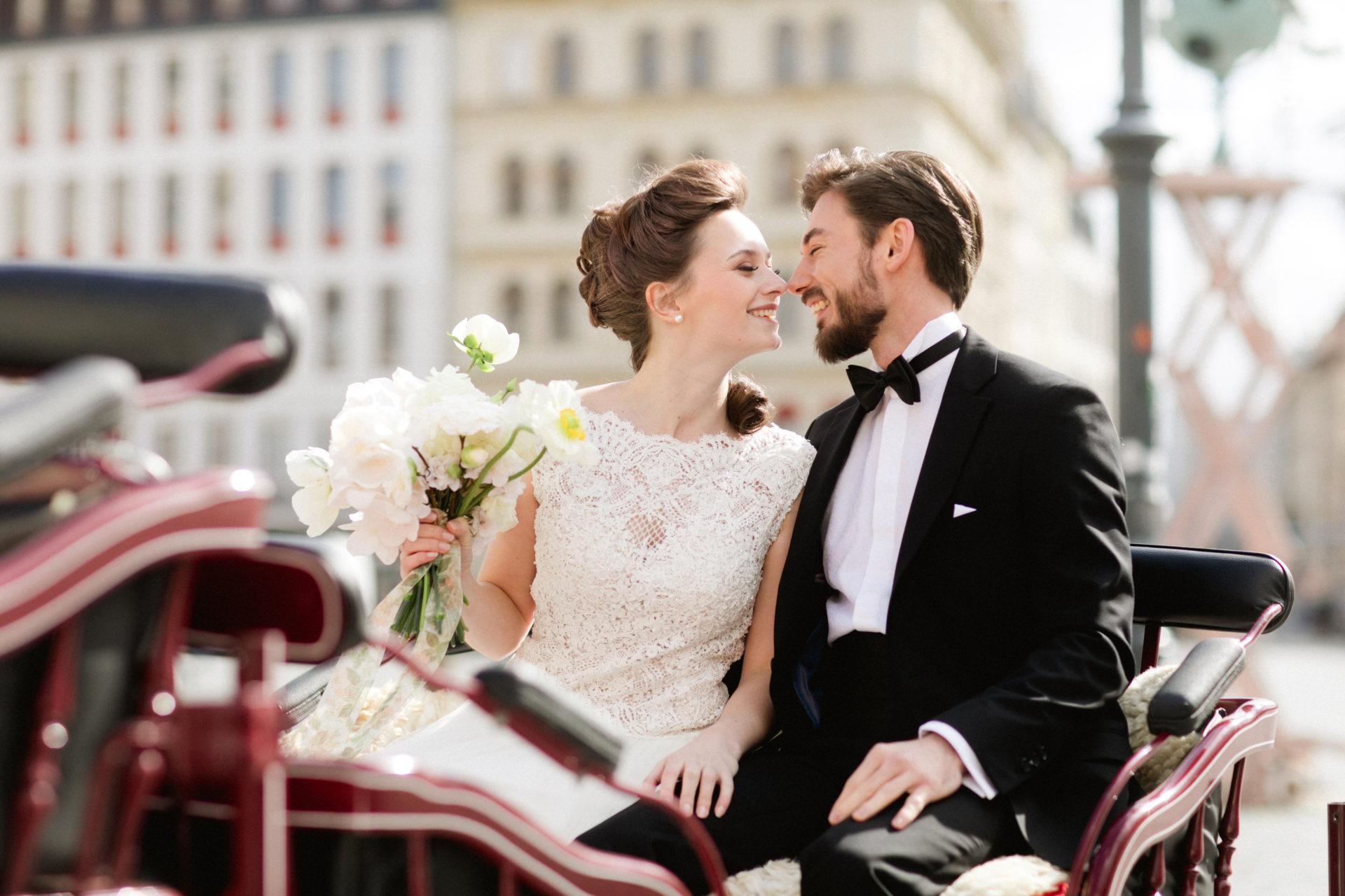 Hochzeitpaar in Dresden